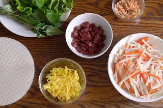 Jicama Fresh Rolls Recipe (Bò bía) 2