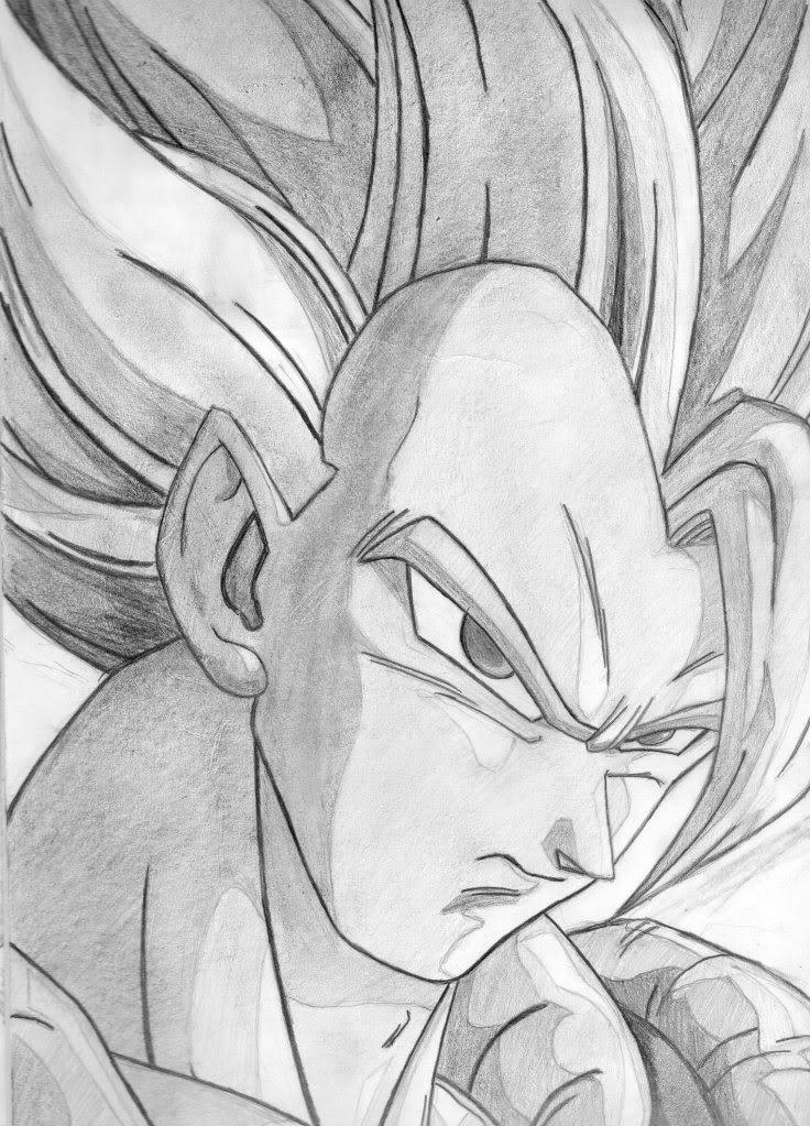 Dibujo Lapiz Dragon Dibujos de Dragon Ball z