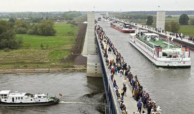 Jembatan Air Magdeburg (Jembatan Air Terbesar di Eropa) Jerman