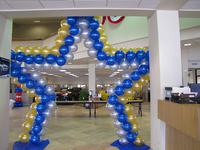 Party people event decorating company lakeland chamber for Balloon decoration business