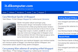 Free Template wordpress perdana Wpeditchil
