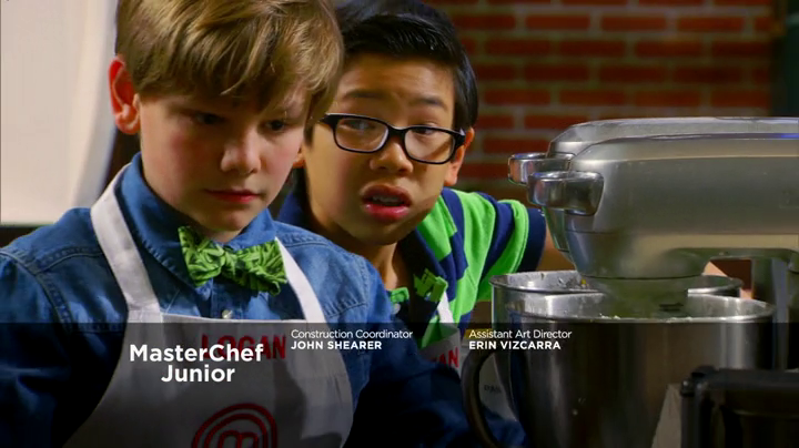 Logan MasterChef Junior Cupcakes on Fox