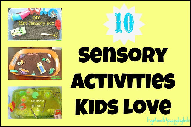 10 Sensory Play Activities Kids Love