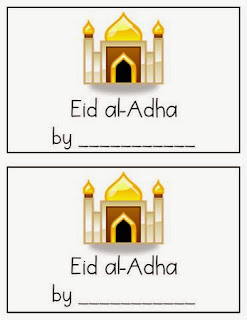 http://www.teacherspayteachers.com/Product/Eid-al-Adha-An-Emergent-Reader-with-Differentiated-Word-Work-1004318
