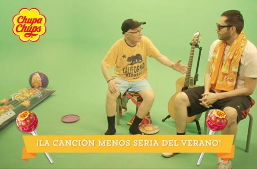 La canción menos seria del verano, por David Guapo y Chupa Chups