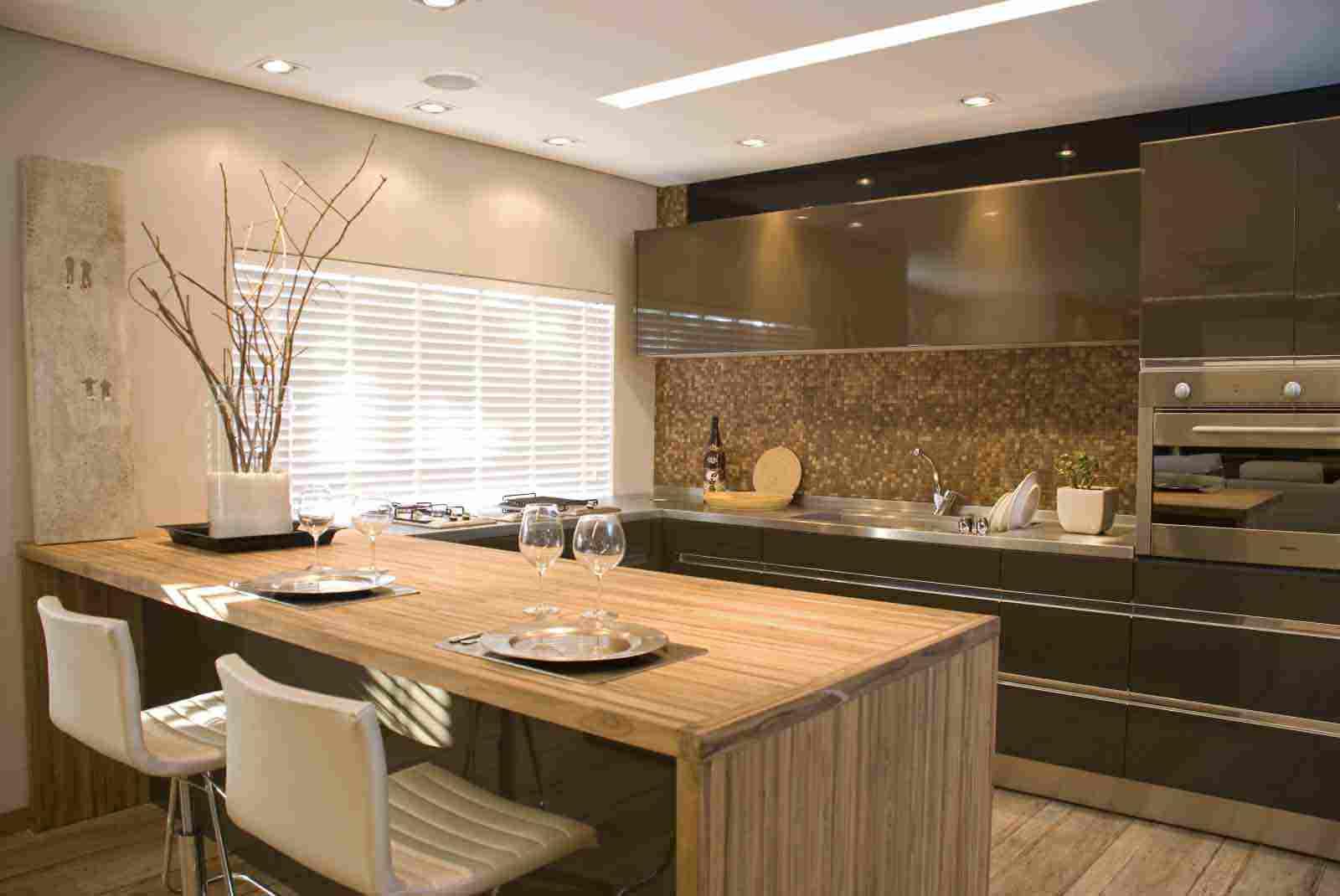 #936638 Brilhuu's: Decoração de Interiores 1600x1070 píxeis em Como Decorar Uma Sala Pequena Com Cozinha Americana