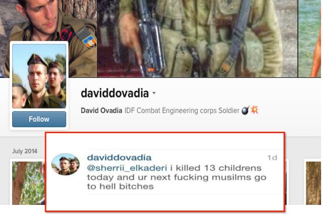 Tentera Israel bangga bunuh 13 orang kanak-kanak Gaza