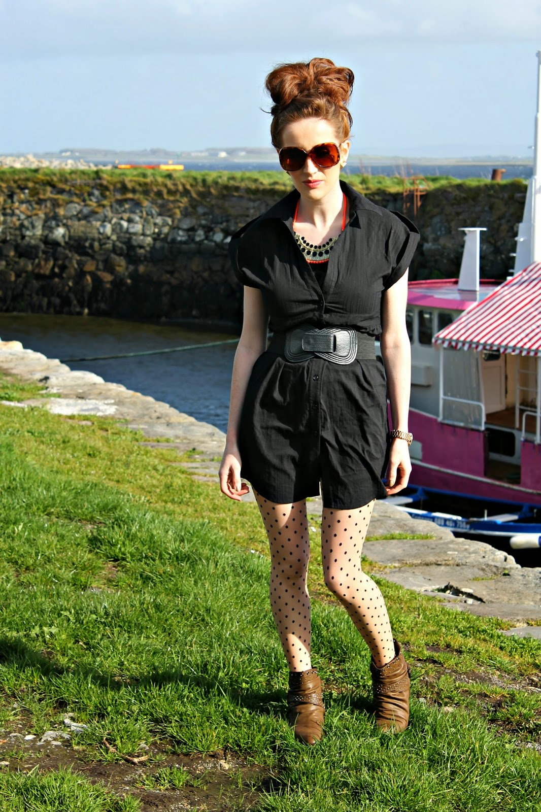 Bec Boop outfit post Galway