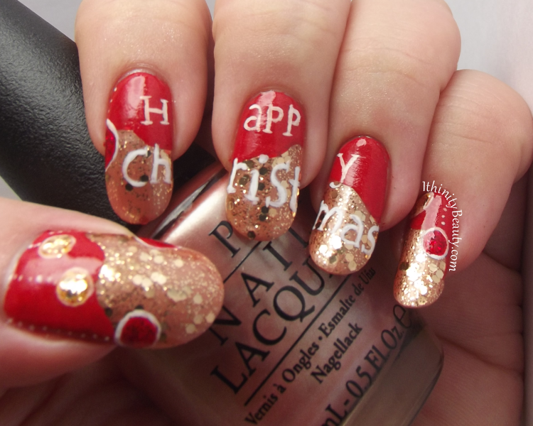 Happy Christmas From Ithinity Beauty Ithinitybeauty Nail Art Blog