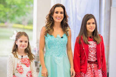 Sophia Valverde, Ticiana Villas Boas e Maisa Silva - Crédito: Artur Igrecias/SBT