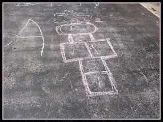 decorating the driveway