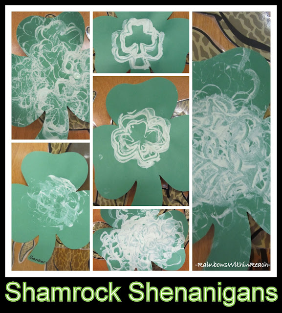 photo of: Shamrock Shenanigans: Open-ended Art via RainbowsWithinReach