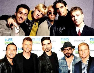 Backstreet Boys antes y después