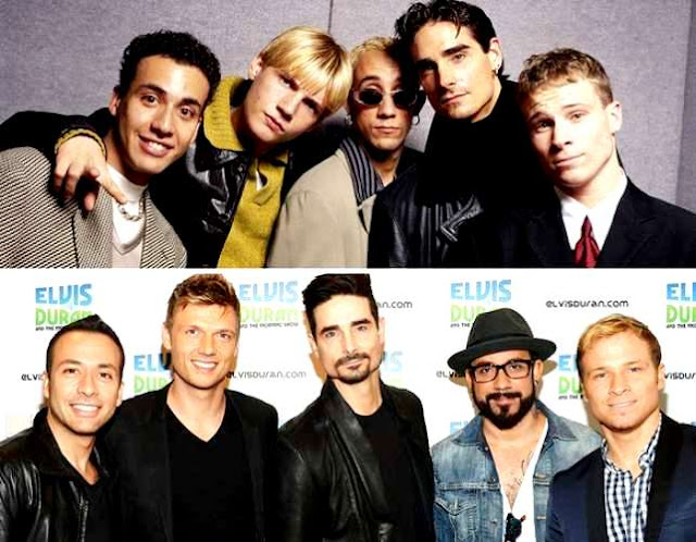 Backstreet Boys antes y después