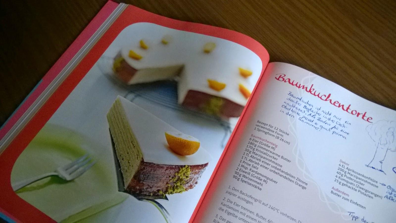 Baumkuchentorte - mein Beitrag bei Love In All Cakes Wanderbuchaktion