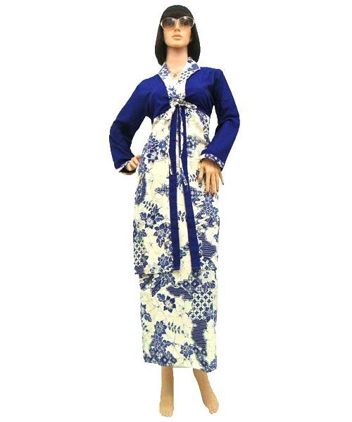 Dress Gamis Batik Dbg144  Butik Batik Solo