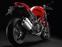 2013 Ducati Monster 1100 EVO Gambar Motor 6