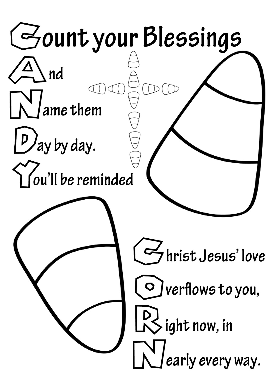 halloween sunday school coloring pages - photo#1