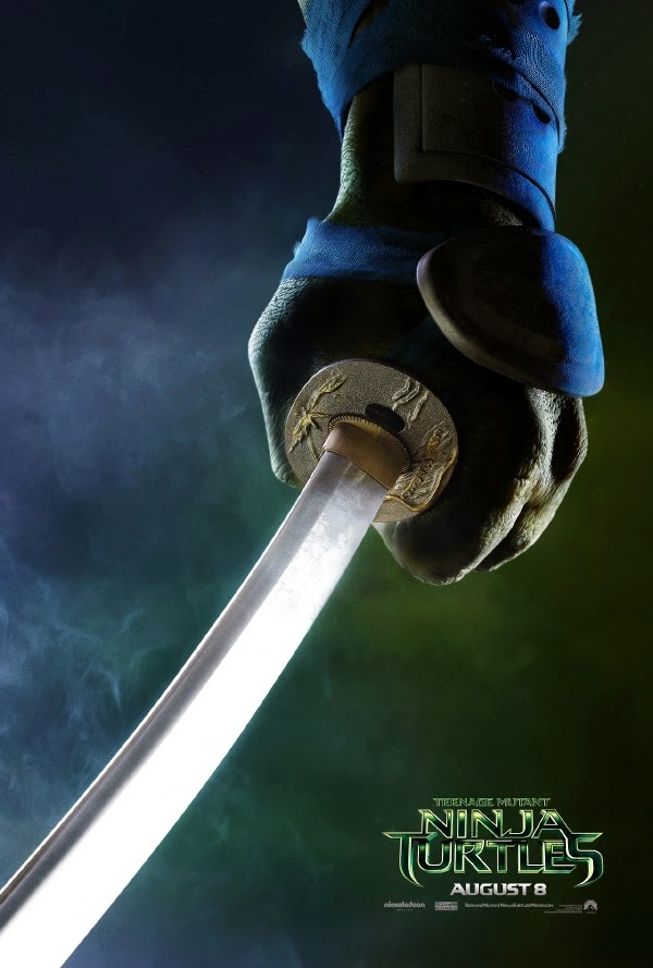 Leonardo teaser poster Teenage Mutant Ninja Turtles