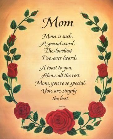 Poem Born From Heart !!!!: Lovely Mother - I Miss You Mom.