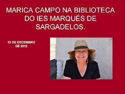 MARICA CAMPO NA NOSA BIBLIOTECA.