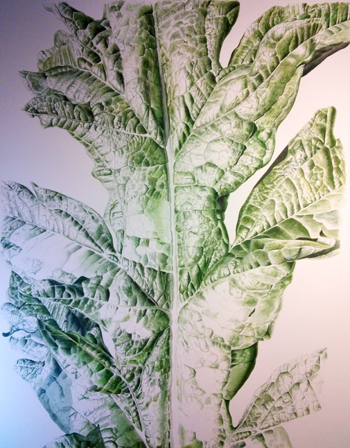 Artichoke Leaf - botanical art