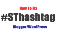 How To Fix See More At Ending With #SThashtag In Blogger Blogs