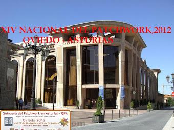 XIV Exposición Nacional de Patchwork de la AEP en Asturias. 2012