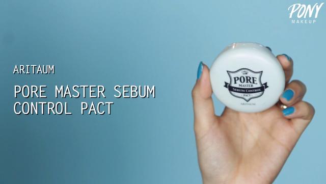 Aritaum Pore Master Sebum Control Pact