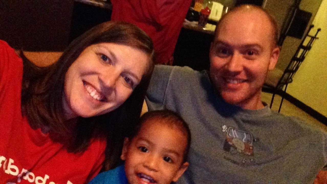 Noah likes a selfie!