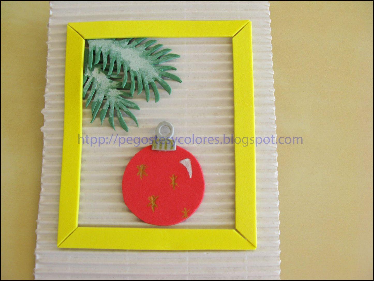 Tarjetas de navidad imagenes de navidad en foami - Disenar tarjetas de navidad ...
