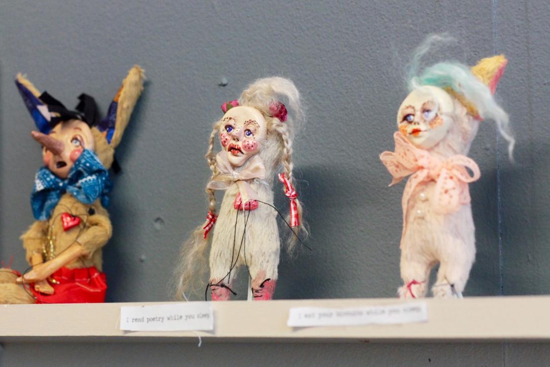 Romina Berenice Canet, art, dolls, Jamaica Street, bristol, doll maker