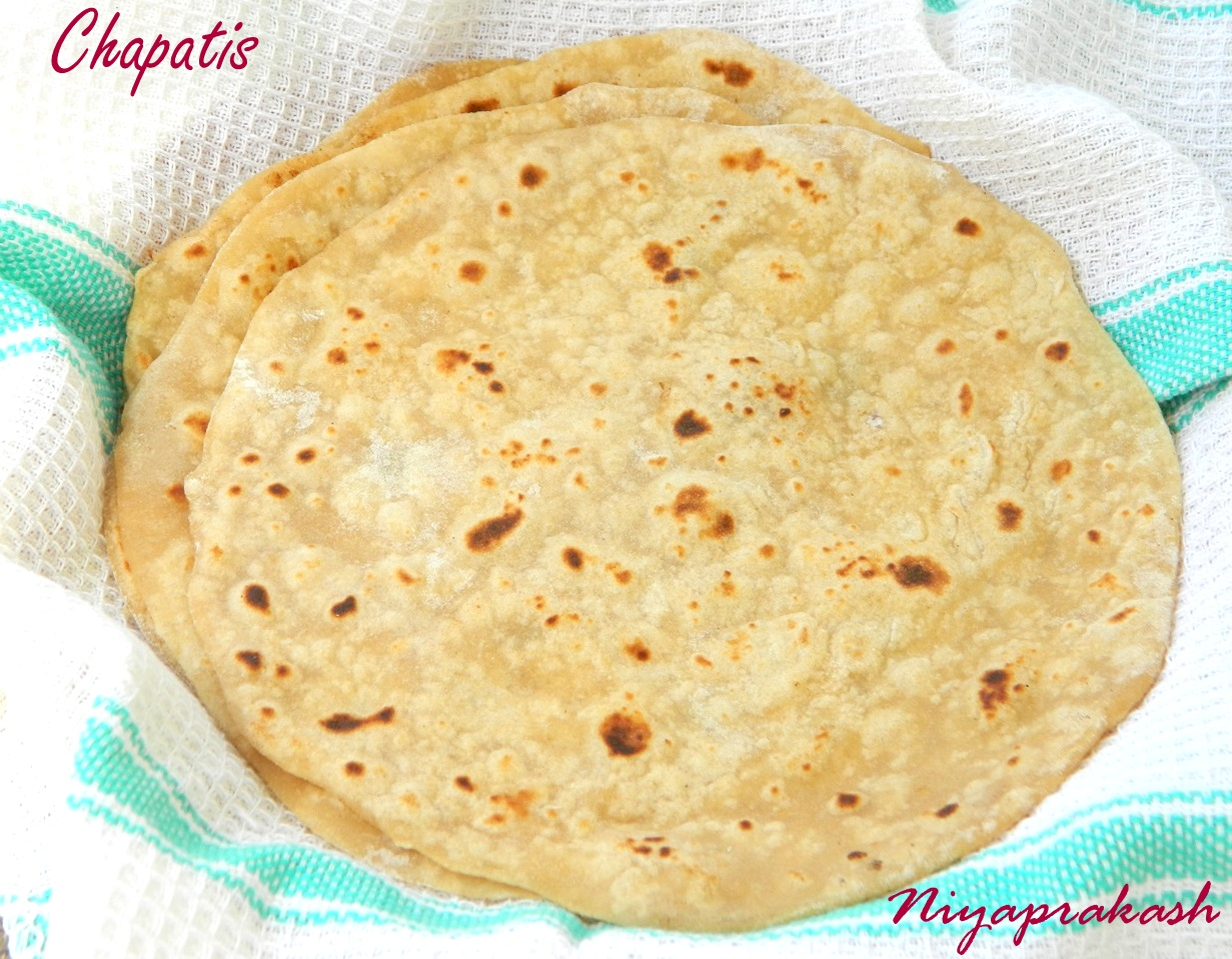 Niya's World: How to make Chapatis?