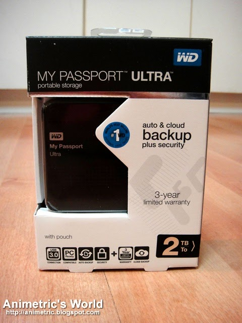 western digital my passport ultra 2 tb review promo animetric 39 s world. Black Bedroom Furniture Sets. Home Design Ideas