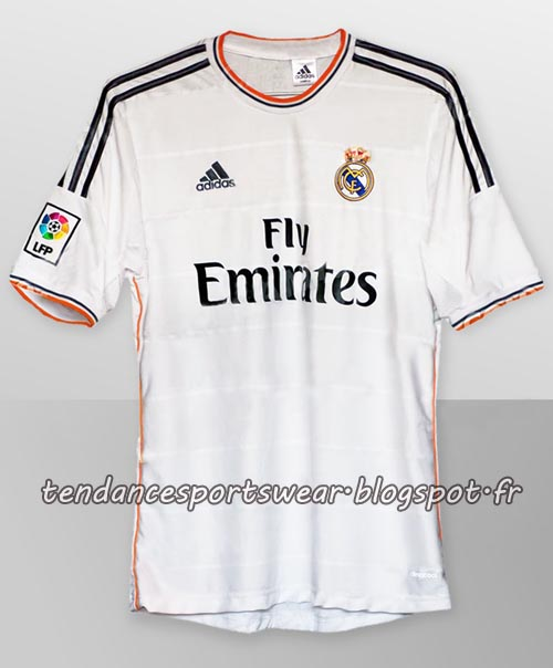 voici un visuel du maillot domicile possible du real madrid pour la saison 2013 2014. Black Bedroom Furniture Sets. Home Design Ideas