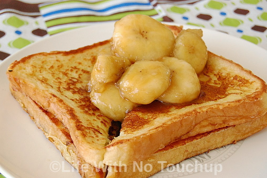 Banana French Toasts from the 1950s