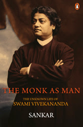Swami Vivekananda in The Monk As Man Book Cover