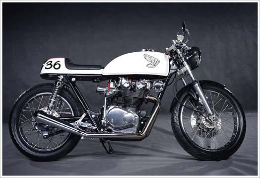 Modifikasi Motor Honda CB500T 1976 Bergaya Cafe Racer