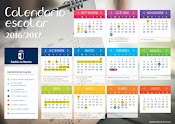 Calendario escolar curso 2016/2017
