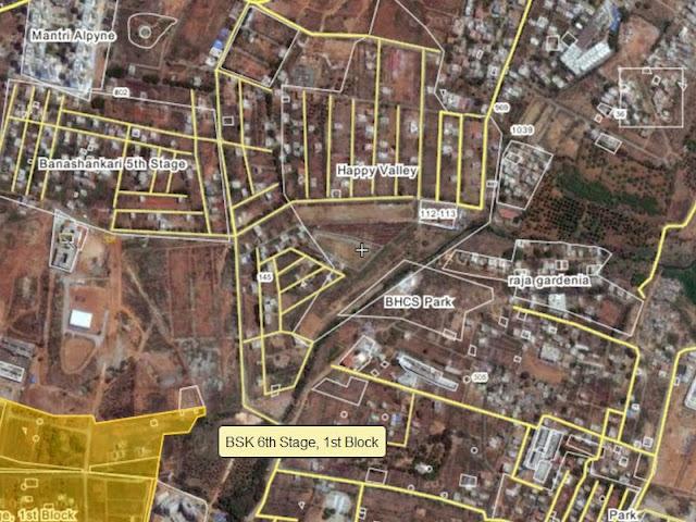 Banashankari BDA Layout Map