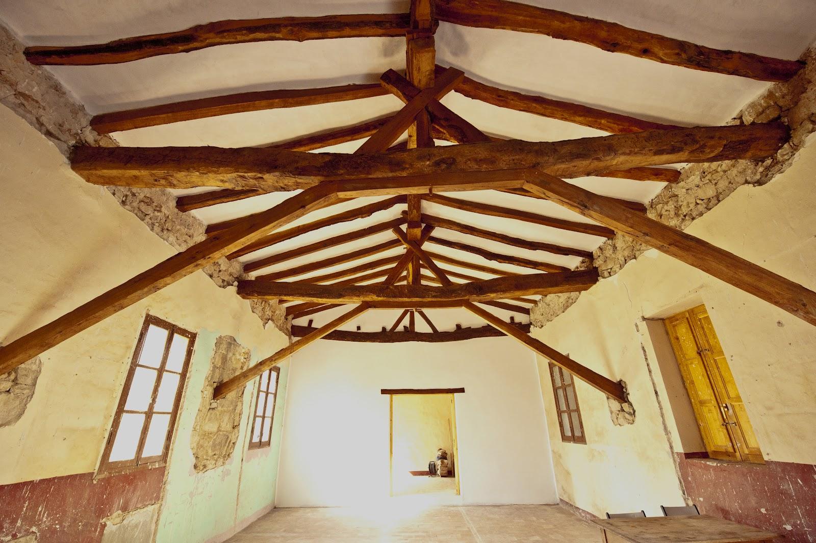 Lsvillanueva estructura de madera - Tejado madera ...