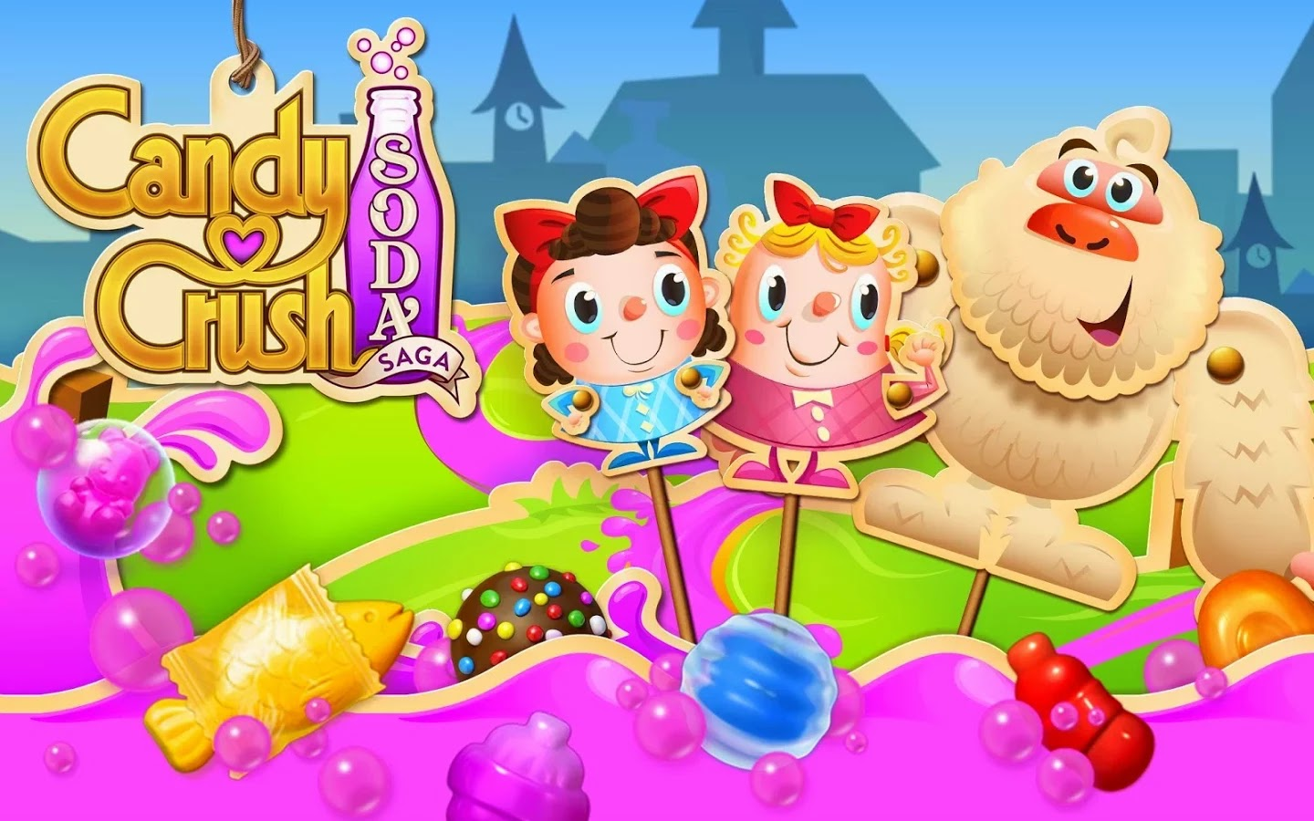 Candy Crush Soda Saga v1.44.11 Mod