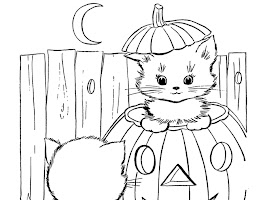 Witch Faces Coloring Pages Printable
