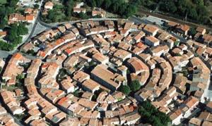circular settlement pattern