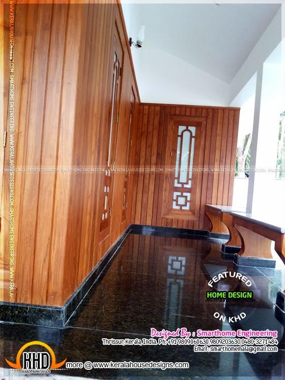 Wood paneling Kerala