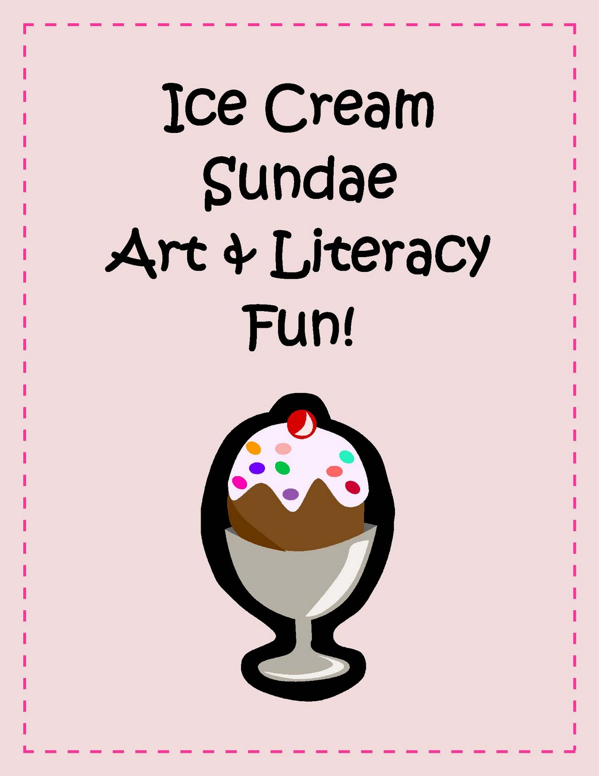 Engaging Lessons And Activities Ice Cream Art And Literacy Activity