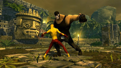 Kid Flash vs Bane - Young Justice: Legacy