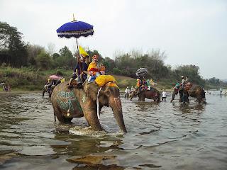 Si Satchanalai Elephant Parade
