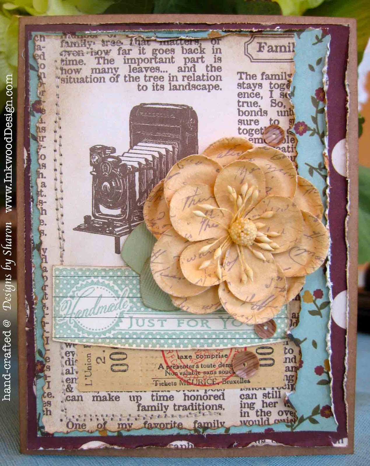 Cream colored cardstock paper studio - Recipe The Card Base Is Made From Kraft Card Stock By Paper Studio One Of My All Time Favorite Kraft Card Stocks Its A Beautiful Color And Easy To Work