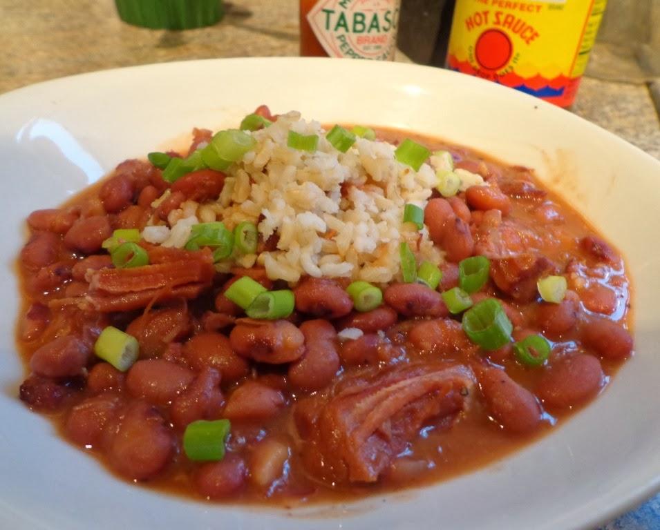 Good Food Tutor: Crockpot Cajun Red Beans and Rice